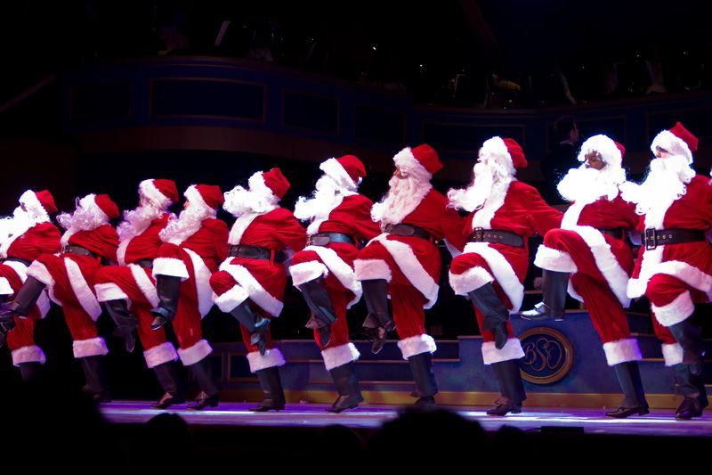Santas kick