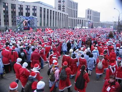 Moscow_santas 2006 SF Santarchy event