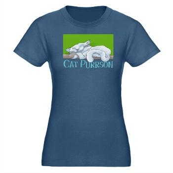 Cat Purrson funny t-shirt