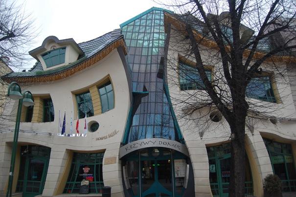 The Crooked House ( Sopot , Poland )