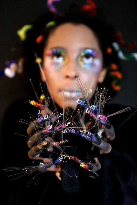 Nail art coils