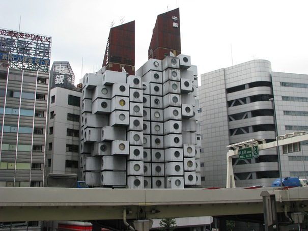Nakagin Capsule Tower ( Tokyo , Japan )